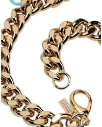 Moschino - Metallic Necklace - Lyst