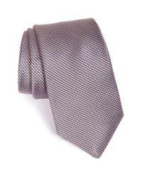 Michael Kors - Pink Microcheck Silk Tie for Men - Lyst