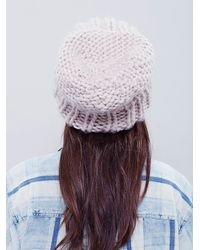 Free People | Natural Womens Skyline Chunky Beanie | Lyst