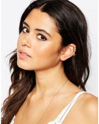 ASOS - Metallic Open Cage Ear Cuff Pack - Lyst