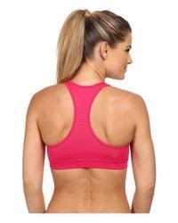 Adidas | Pink Techfit™ Bra | Lyst