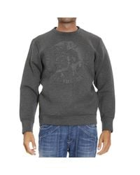 DIESEL | Gray Sweater for Men | Lyst