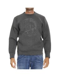 DIESEL - Gray Sweater for Men - Lyst