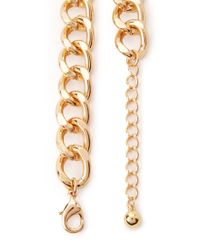 Forever 21 - Metallic Coin Chain Choker - Lyst