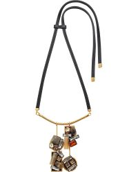 Marni | Natural Embellished Pendant Necklace - For Women | Lyst