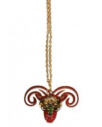 Matthew Williamson | Metallic Aries Pendant Necklace | Lyst