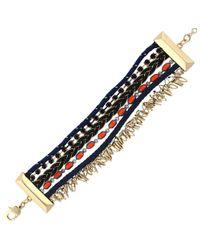 BCBGeneration - Multicolor Multi-Color Mixed Bead & Strand Bracelet - Lyst