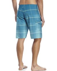 Billabong - Blue All Day Plaid X Board Shorts for Men - Lyst