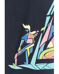 Marc By Marc Jacobs - Printed Cotton T-shirt - Blue for Men - Lyst