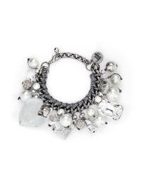 Venessa Arizaga - Metallic 'ready To Party' Bracelet - Lyst