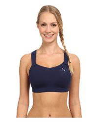 Moving Comfort | Blue Juno Bra | Lyst