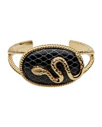 Just Cavalli - Black Bracelet - Lyst