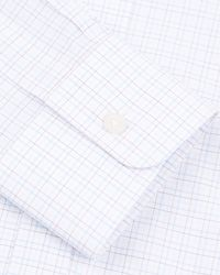 Jaeger | Pink Tattersall Check Classic Shirt for Men | Lyst
