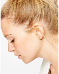 ASOS | Metallic Limited Edition Arrow Stud Earrings | Lyst