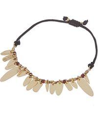 Maje | Metallic Nefle Bracelet - For Women | Lyst