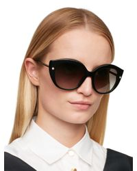 kate spade new york | Black Kaelee Sunglasses | Lyst