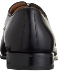 Prada Black Cap Toe Balmoral for men