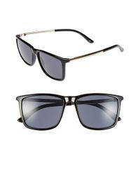 Le Specs | Black 'tweedledum' 55mm Sunglasses | Lyst