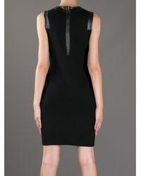 MILLY - Black 'Samantha' Dress - Lyst