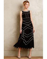 Leifsdottir - Black Tasman Midi Dress - Lyst