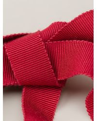 Lanvin - Red 'Acapulco' Short Necklace - Lyst