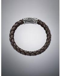 David Yurman - Waves Bracelet in Brown for Men - Lyst