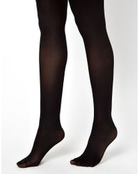 ASOS - Black 3 Pack 50 Denier Tights With Supportive Band - Lyst