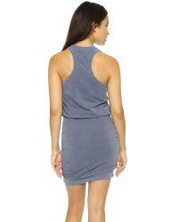 Sundry - Blue Sleeveless Dress - Rain Pigment - Lyst