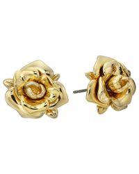 Marc By Marc Jacobs - Metallic Jerrie Rose Drop Earrings - Lyst
