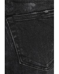 R13 - Gray Skinny Low-Rise Stretch-Denim Jeans - Lyst