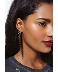 Nasty Gal - Metallic Erickson Beamon Rocks Falling For You Earrings - Lyst