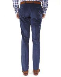Jules B - Blue Cotton Corduroy Trousers for Men - Lyst