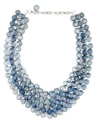 Night Market | Blue 'crystal Rain' Necklace | Lyst