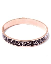 Liberty - Pink Black Pemberley Solid Floral Bracelet - Lyst