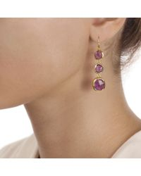 Monica Vinader - Purple Siren Wire Cocktail Earrings - Lyst