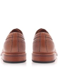 Foot The Coacher | Brown Sid Long Wing Derby Shoes for Men | Lyst