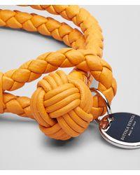 Bottega Veneta - Orange Sun Intrecciato Nappa Bracelet - Lyst