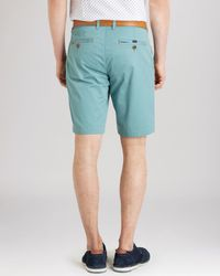 Ted Baker | Blue Shoaks Chino Shorts for Men | Lyst