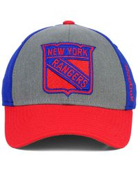 Reebok - Purple New York Rangers Tnt Flex Cap for Men - Lyst