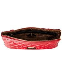 Love Moschino | Red Quilted Clutch Crossbody | Lyst