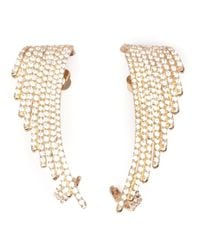 Joanna Laura Constantine - Metallic Wing Earrings - Lyst
