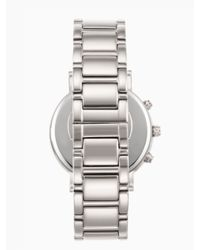 Kate Spade | Gray Gramercy Grand Chronograph | Lyst