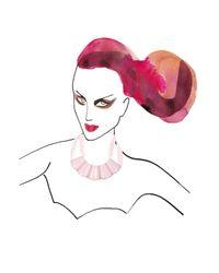 Marion Vidal - Pink Blush Ceramic Necklace - Lyst