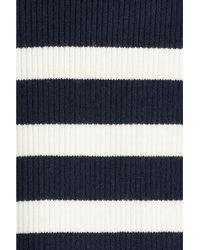 Polo Ralph Lauren - Stretch Knit Dress - Blue - Lyst