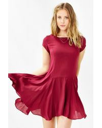 Kimchi Blue | Red Jainey Trapeze Dress | Lyst