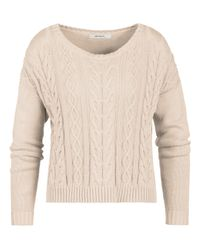 Sandwich | Natural Cable Knit Jumper | Lyst