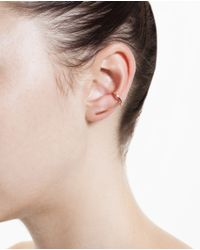 Asherali Knopfer - Pink Gold Theo Earring - Lyst