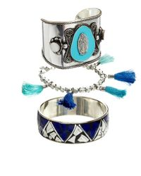 ASOS - Blue Indian Bracelet Pack - Lyst