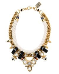 Lizzie Fortunato | Metallic Western Collar Ii Necklace | Lyst