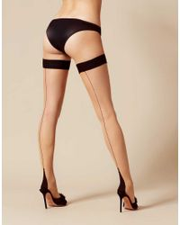 Agent Provocateur | Astra Hold Up Black/champagne | Lyst